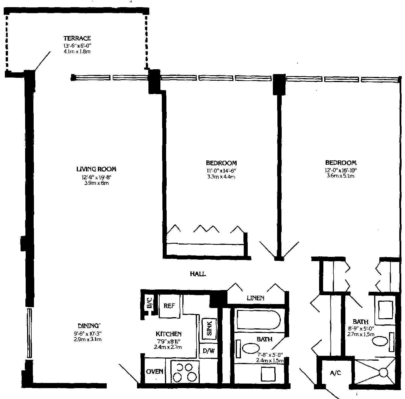 Island Ave Miami Beach Floor Plans